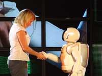 ASIMO ROBOT - HANDSHAKE