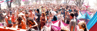 Rainbow Serpent Festival Crowd