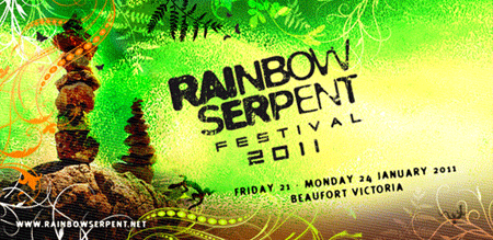 Rainbow Serpent Festival Flyer